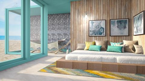 beach bedroom - Bedroom  - by Swig