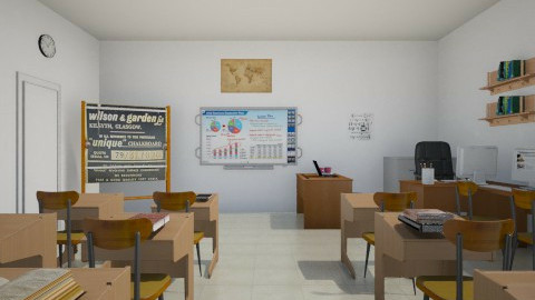 classroom - by mgirl