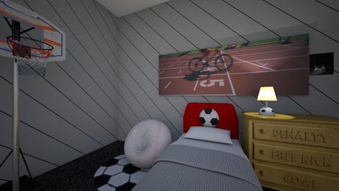 The Sporty Kid - Kids room  - by John9110