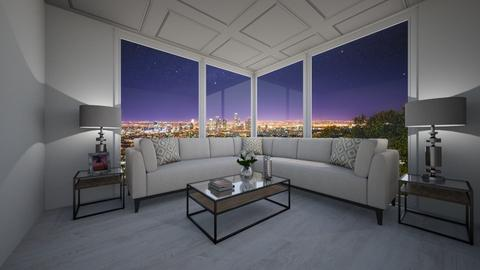 Den with a view - Classic - Living room - by nicquo40