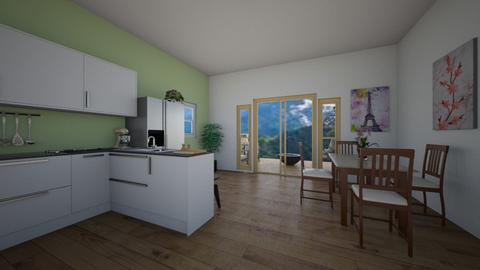 better scenery - Kitchen  - by ievameda_7