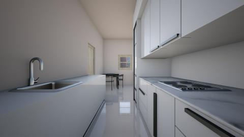 Mc B Kitchen - Modern - Kitchen - by Zaphire