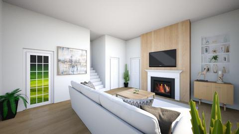 Modern living room - Living room  - by Chrispow0105