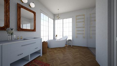 Master Bath - Bathroom  - by virtuestella