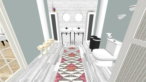 blue Iky 7 - Country - Bathroom  - by decordiva1
