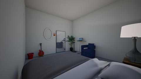 view room  - Bedroom  - by tanwarat lim