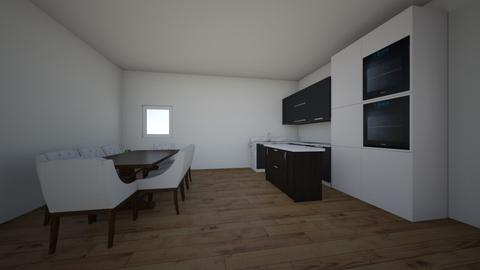 Math Assignment House pla - Kitchen - by hognoca
