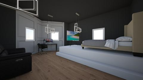 jongens kamer - Modern - Bedroom - by Kootje