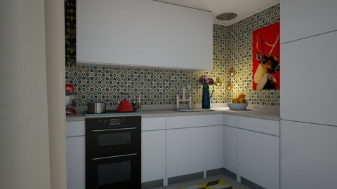 Kitchen - Retro - Kitchen  - by Tennessee
