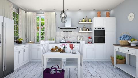 Country kitchen - Kitchen  - by Vicesz