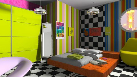 kPop - Eclectic - Bedroom  - by 532johanna