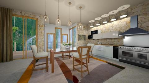 BDr - Modern - Dining room - by Saj Trinaest