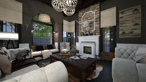 Classic Country - Living room - by SimonRoshana