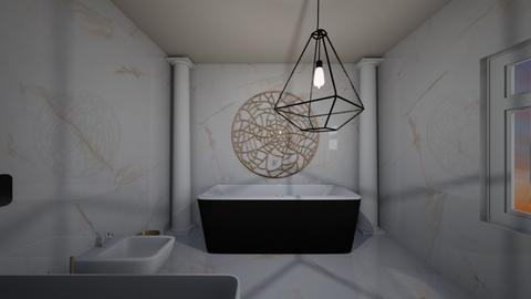 Guest Room EnSuit - Bathroom  - by KylaTH