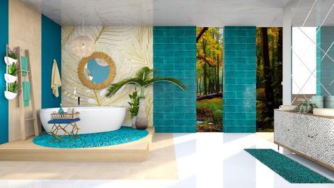 Modern Bathroom - Bathroom  - by Feeny
