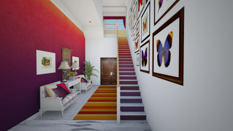 Ombre stairs - by maja97