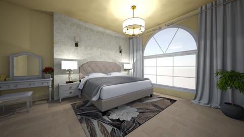 SOFT BEDROOM - Bedroom  - by maryamk97