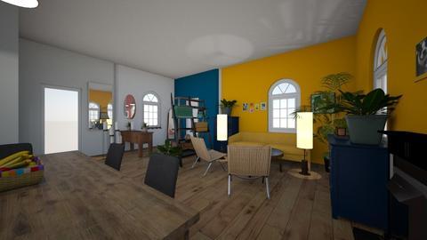 retro livin room - Living room  - by begin_girl