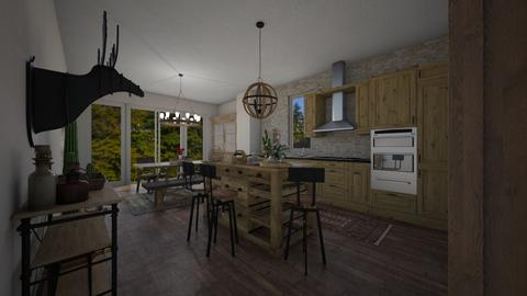 Rustico - Kitchen - by tomorrowneverdie22