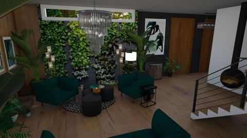 Urban Jungle Hallway - by rechnaya