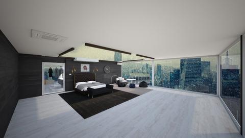 idk penthouse - Modern - Bedroom  - by atasha