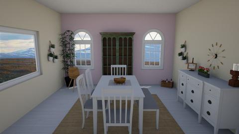 Scandinavian Dining Room - Dining room  - by LSDESIGNS