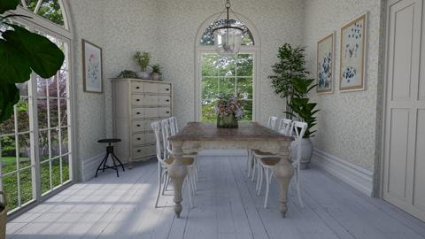 Provence - Dining room  - by Thrud45