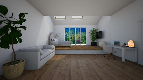 attic bedroom - Bathroom  - by natalieeyauu