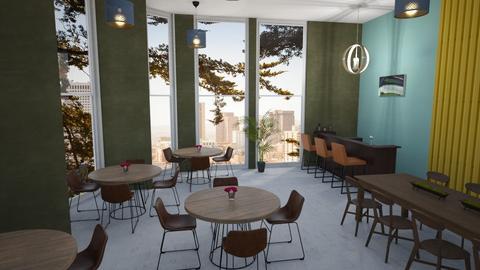 Okeeffe Restaurant - by kyrabaldwin