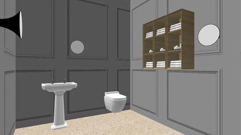 Fancy Bathroom - by ayaatkathoria