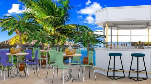 Beach restaurant - by Nari31