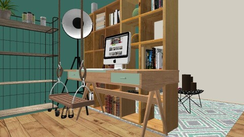 Cool - Eclectic - Bedroom  - by love Tully love