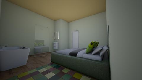 fixed - Bedroom  - by Lillian K