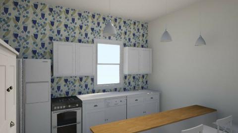 BlueBellFarmHouseKitchen - Country - Kitchen  - by 7starfall