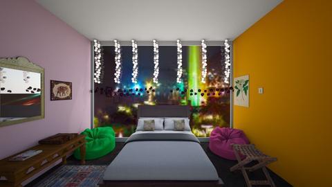 Sleeping In India - Bedroom  - by ashishereforfun