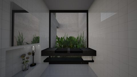 Patio Bathroom - Modern - Bathroom  - by StienAerts