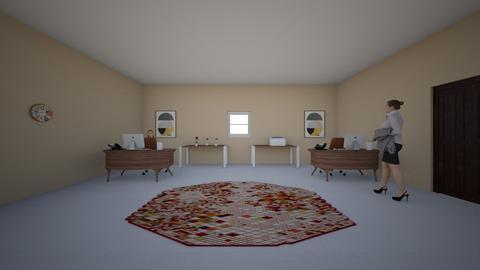 open office  - Modern - Office - by adhwa saeed alghamdi