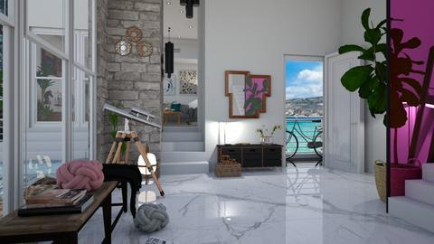 home entrance - Modern - by Louisa caulton