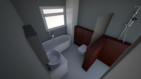 bathroom v4 - Bathroom  - by aledpc13