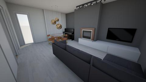 baldasseria media marmo - Living room  - by elisadm