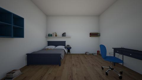 idia door room - Bedroom  - by crying_room