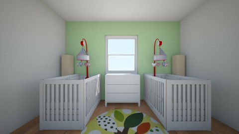 Baby boy nursery - Kids room - by Cora_da_B0ss