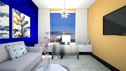 sky office - Office - by Artisan617
