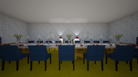 BARBIE_DINING ROOM - Dining room - by luxury winter decoration
