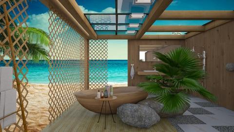 Beach Bathroom - Bathroom  - by Malithu