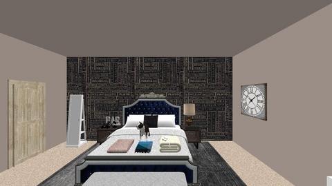 Habitacion - Feminine - Bedroom - by Sol Berenice