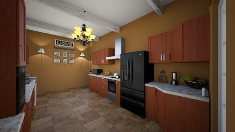Final Project  - Kitchen  - by Lissettemeraz19