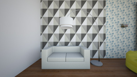 dyplom - Living room - by Inesia