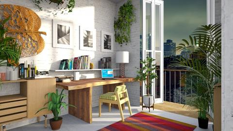 Urban Jungle Office - Office  - by lauren_murphy
