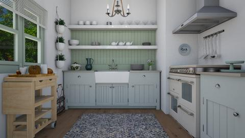 Small country kitchen - Country - Kitchen  - by Laurika